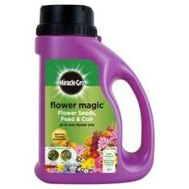 Miracle Gro Flower Magic seeds - multi-colourd £3.00 @ Tesco direct