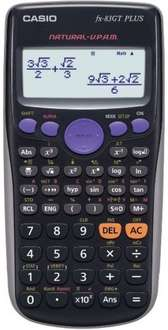 Casio FX-83GTPLUS Scientific calculator (NOT Solar powered we think, who knows) @ Amazon - £7.19 (Free Delivery with Prime/£10 Spend)