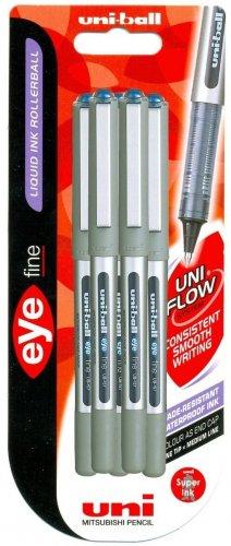 Uni-Ball Eye Fine UB157 Rollerball (Assorted, Pack of 5 Pens) £4 @ Tesco Direct Free C&C