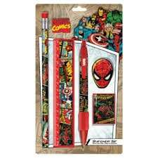 Marvel Icon Stationery Set now 1/2 Price £1.50 @ Tesco Direct