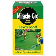 Miracle Gro Soluble lawn food 1kg/200sq m  Tesco Direct - £1.25