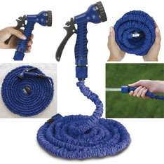 50FT EXPANDING GARDEN HOSE PIPE FLEXIBLE NON KINK @ ebay homes store - £10.49