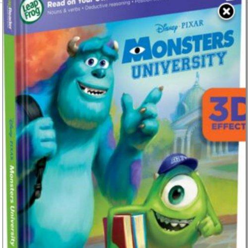 LeapFrog LeapReader Book : Disney Pixar Monsters University £5.70 (70%off) @ Debenhams