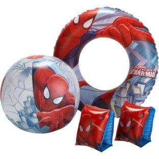 Disney Spiderman Swim Set. Armbands, Ring and Beach Ball - £3.32 @ Argos