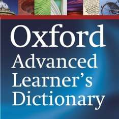 Oxford Advanced Learner's Dictionary, 8th edition. app for free @ amazon appstore