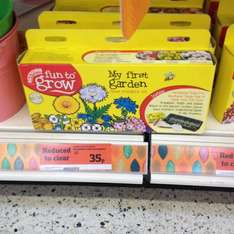 My first Garden set now 35p @ Sainsburys instore