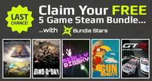 All 5 Steam Games Free Again - Gun Monkeys, Dino D-Day, Really Big Sky, SpaceChem, GTR Evolution @ BundleStars/PC Gamer