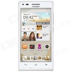 """Huawei Ascend G6-U00 Android 4.3 Quad-core WCDMA Bar Phone w/ 4.5"""" Screen, Wi-Fi and GPS - White £107.49  at Deal Extreme"""