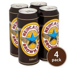 Newcastle brown 4x500ml cans £3.49 @ Tesco