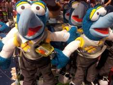 "Muppets Gonzo 17"" Soft Toy was £18, now £5, instore only Disney Store"