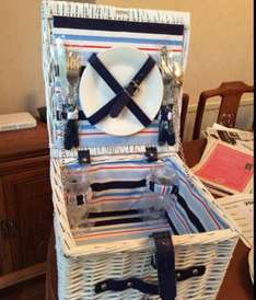 Picnic Basket with Cutlery £6 @ Tesco