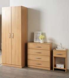 Ashton Bedroom Furniture Set @ Tesco direct for £129.00 ( £114 with code)+ £7.95 delivery