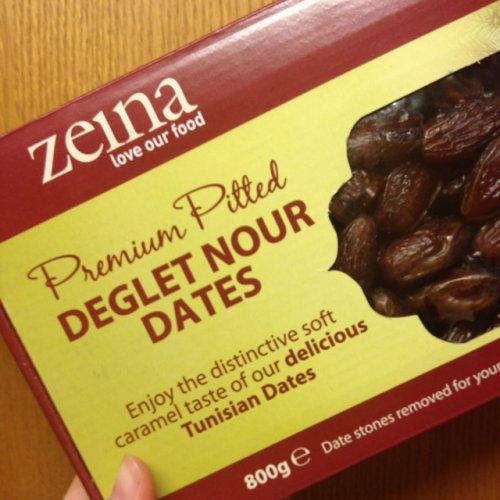 Zeina Pitted Dates 800g £1 ASDA