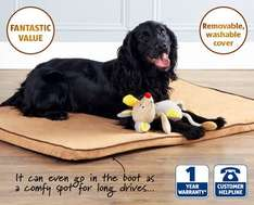 Memory Foam Pet Bed @ aldi £14.99 from Thursday 7th