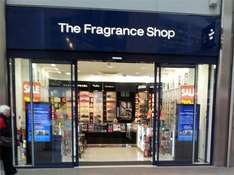 10% off everything in the fragrance shop
