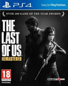 The Last of Us Remastered Edition PS4 £29.97 delivered from Gamestop