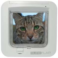 Sureflap Microchip Cat Flap - Zooplus 5% off for new customers + 4%Quidco (£50.99)