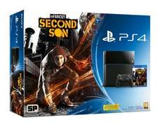 Sony PS4 bundle with InFamous Second Son - Hughes Plus Store - £323