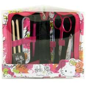 Back in stock Hello Kitty full range manicure set/mirror/emery boards/tweezer £0.49 @ Superdrug
