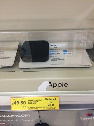 Apple TV £49.50 @ Tesco (instore)