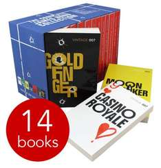 James Bond 007 Collection - 14 Book Slipcase £10 + £2.95 delivery at The Book People