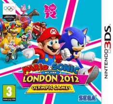 3DS - Mario and Sonic at the London 2012 Olympic Games - New & Delivered @ Game - £7.99