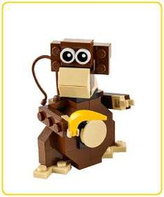 FREE monthly mini build - Lego Chimp (7th August / 4pm - 6pm) @ Lego stores