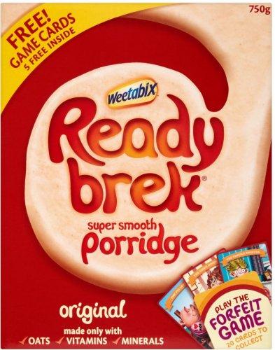 Weetabix Ready Brek Original (750g) was £2.99 now £2.00 @ Morrisons