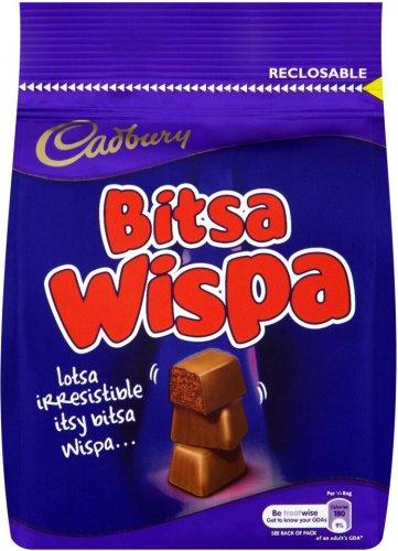 Cadbury Bitsa Wispa Bag (130g) was £2.09 now £1.00 @ Morrisons