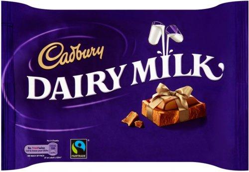 Cadbury Dairy Milk (360g), was £3.49 Offer price £2.50 @ Morrisons