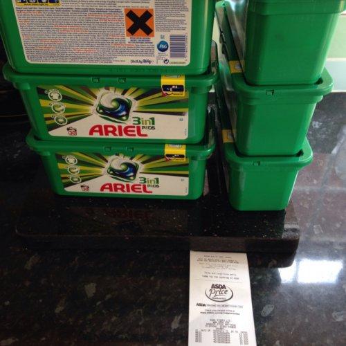 Ariel 3 in 1 pods x 30 for £2.50 instore @ ASDA