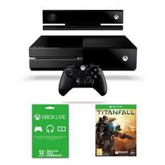 Xbox One console with Kinect, Titanfall and 12 months Xbox Live subscription £361.85 @ Amazon