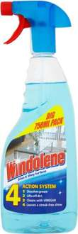 Windolene 4 Action System for Glass & Shiny Surfaces (750ml) was £1.99 now 99p @ Morrisons