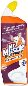 Mr Muscle Toilet Cleaner (Lavender) (750ml) was £1.99 now 99p @ Morrisons