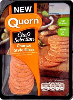 Quorn (Chef's Selection) Chorizo Style Slices (100g) ONLY £1.00 @ Waitrose