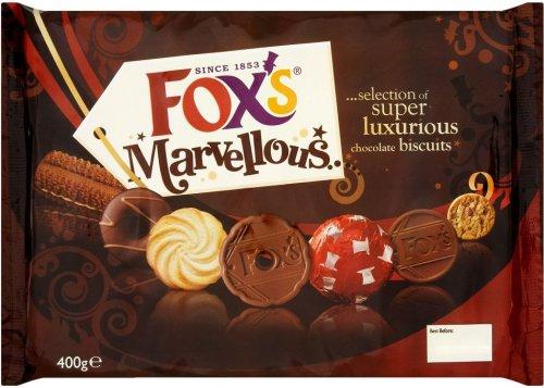 Fox's Marvellous Selection (400g) was £3.99 now £2.63 @ Waitrose