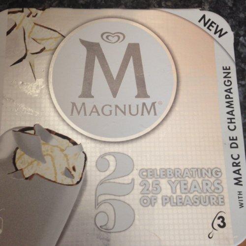 Magnum Marc de champagne 3 pack half price £1.49 at morrisons