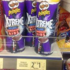 Pringles Extreme Smokin' Ribs 95p each or 2 for £1 @ Farmfoods
