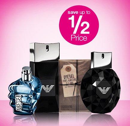 Loads of fragrance Deals @ Superdrug.