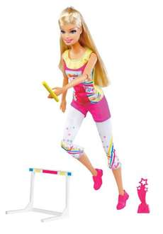 Barbie - I Can Be Track Champion Doll £5 @ Amazon (Free delivery £10 spend / Prime)