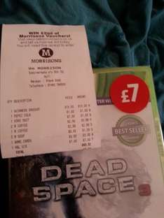 Dead Space 3 xbox360 New £7 @ morrisons