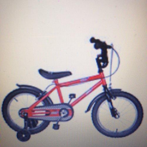 "Urban racer 16"" kids bike with stabilisers £14.00 @ Tesco direct"