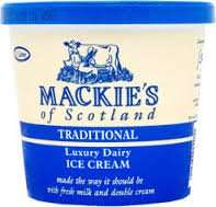 1 litre + 1 litre free Mackies Dairy Ice Cream for £2 at Farmfoods