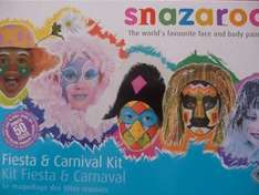 Snazeroo *Fiesta & Carnival* Face Painting Kit - Paints 50 faces. Was £9.00 now £2.25 Instore @ Tesco - Bought in Roborough Plymouth store today!