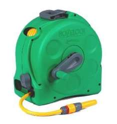 Hozelock 2-in-1 Compact Enclosed Hose Reel with 25 m Hose and Connectors with 5 Year Guarantee £19.00 @ Amazon