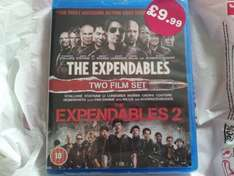 Expendables & expendables 2 double pack on blu ray for £9.99 at hmv instore