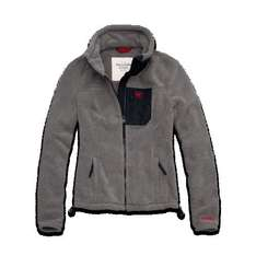 A&F Woman's Mountain Fleece Jacket was £120 now £24 @ Abercrombie & Fitch