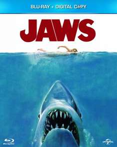 Jaws (Blu-ray + Digital Copy + UV Copy) - £6.00 @ Amazon (free delivery £10 spend / Prime)