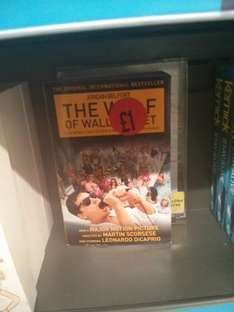 The Wolf of Wall Street (Book) £1 @ Sainsbury's
