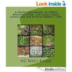 Free Kindle eBook - A Photo Handbook of Weeds Identification and Green Grass Lawn Care for Picture Perfect Turf